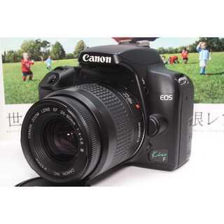 キヤノン(Canon)の❤️憧れのCanon一眼レフ❤️Canon EOS Kiss F レンズセット(デジタル一眼)