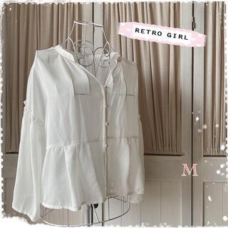 RETRO GIRL - レトロガール ブラウス シャツ ボリューム袖