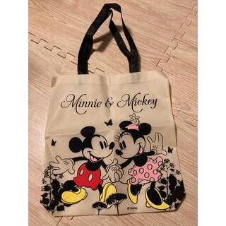 ディズニー(Disney)のディズニー ミッキーミニー エコバッグ トート 大判 不織布 (エコバッグ)