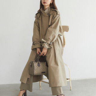 Ameri VINTAGE - ランデブー randeboo monogram trench coat