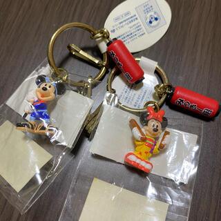 Disney - ミッキーミニー キーホルダー
