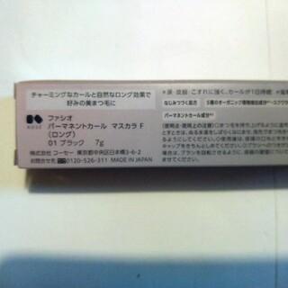 Fasio - ファシオ パーマネントカール マスカラ F ボリューム 01 ブラック(7g)