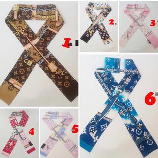 選べる2枚セット ツイリースカーフ