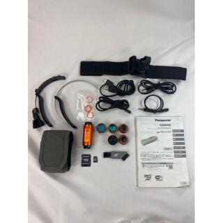 パナソニック(Panasonic)の627 パナソニック ウェアラブルカメラ オレンジ HX-A1H-D(コンパクトデジタルカメラ)
