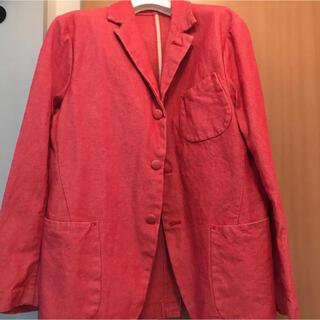 エビス(EVISU)のテーラード ジャケット 赤(テーラードジャケット)