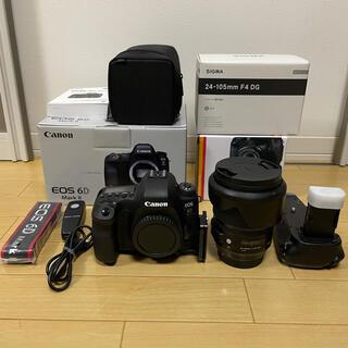 キヤノン(Canon)のCanon EOS 6D MARK2 ➕SIGMA24-105mm F4 ART(デジタル一眼)