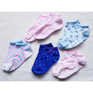 ミキハウス(mikihouse)のミキハウス 靴下 スニーカー ソックス 15-17 17-19 ローカット(靴下/タイツ)