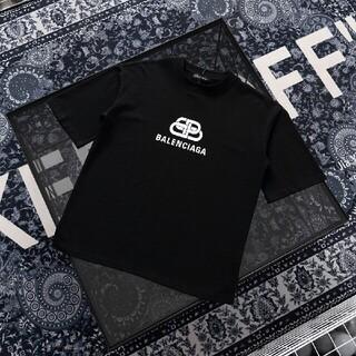 Balenciaga - Balenciagaエバーグリーンのバックルプリントtシャツ