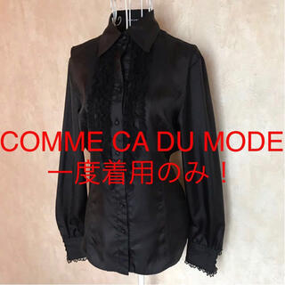 COMME CA DU MODE - ★COMME CA DU MODE/コムサデモード★長袖ブラウス9(M)