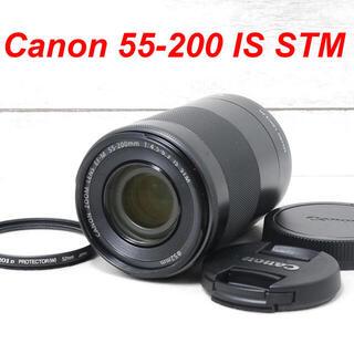 キヤノン(Canon)の❤️ミラーレス望遠❤️お出かけに❤️Canon 55-200mm IS STM(レンズ(ズーム))