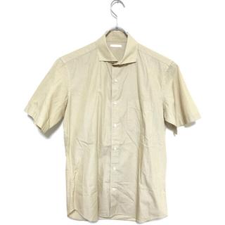 ジーユー(GU)の[未使用品] GU ドット デザインシャツ Sサイズ(シャツ)