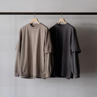 COMOLI - BLOOM&BRANCH blurhms ROOTSTOCK   パックtシャツ