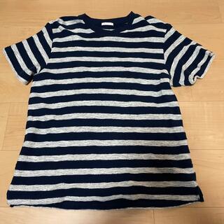 ジーユー(GU)のGU ボーダーTシャツ(Tシャツ/カットソー(半袖/袖なし))