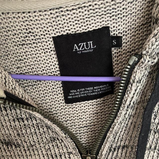 AZUL by moussy(アズールバイマウジー)のアズール メンズ フード付パーカー S メンズのトップス(パーカー)の商品写真
