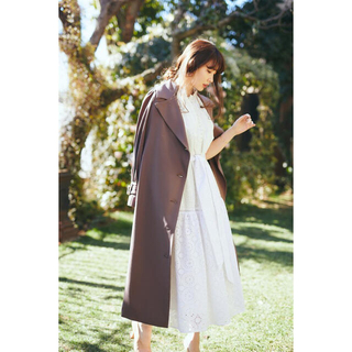 Belted Dress Trench Coat Her lip to