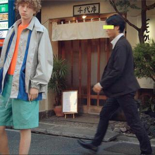 kolor - kolor 20ss レイヤードコーチジャケット サイズ1  定価100000円