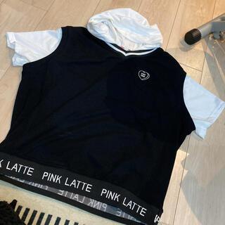 ピンクラテ(PINK-latte)のトップス(Tシャツ/カットソー)