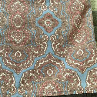 MK MICHEL KLEIN - MKミッシェルクラン ペイズリー柄 ひざ丈スカート