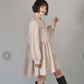 RETRO GIRL - ティアードワンピース レトロガール