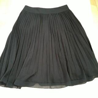 オフオン(OFUON)の試着程度 OFUON オフオン シフォンプリーツスカート(ひざ丈スカート)