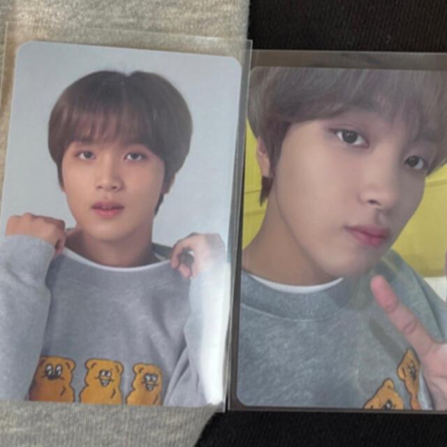 NCT 127 ヘチャン トレカ パーカー スウェット エンタメ/ホビーのCD(K-POP/アジア)の商品写真