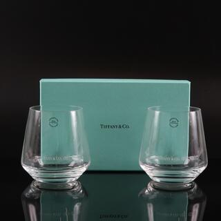 Tiffany & Co. - ティファニー タンブラー グラス 2客/ペア     ガラス