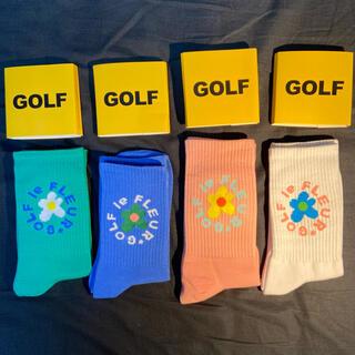 STUSSY - GOLF WANG 靴下4本セット