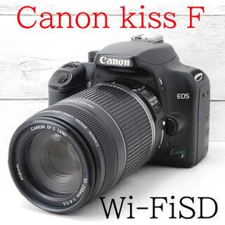 キヤノン(Canon)の❤️初心者、女性に❤️スマホ転送❤️Canon kiss F(デジタル一眼)