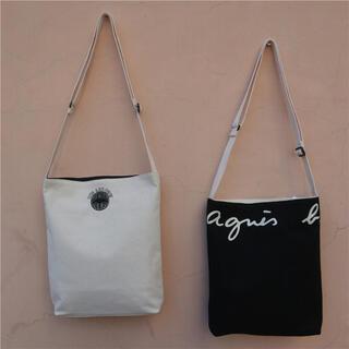 agnes b. - 新品 agnes b. アニエスベー リバーシブルトートバッグ 黒×白両面タイプ