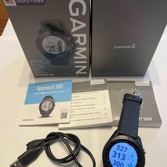GARMIN(ガーミン)のGARMIN アプローチS60  GPS USED チケットのスポーツ(ゴルフ)の商品写真