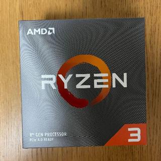 AMD ryzen 3 3100 新品未使用品