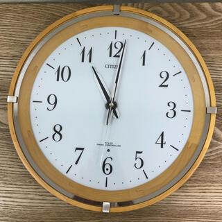 シチズン(CITIZEN)の値下げ!CITIZEN 電波壁掛け時計(掛時計/柱時計)