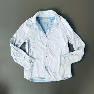 ザラ(ZARA)のZARA ブルーシャツ 150(Tシャツ/カットソー)