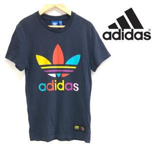 アディダス(adidas)の【超人気】❤アディダス❤ Tシャツ ネイビー ブラウス 〈XS〉春 夏(Tシャツ(半袖/袖なし))