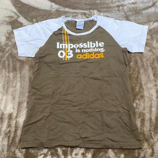 アディダス(adidas)の【 adidas 】Tシャツ 半袖(Tシャツ(半袖/袖なし))