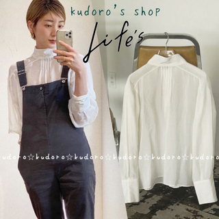 TODAYFUL - TODAYFUL■新品■Standcollar Organdy Blouse ①