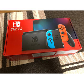 Nintendo Switch - Nintendo Switch ニンテンドースイッチ ネオンフルー 新品 未使用