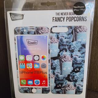 ミルクボーイ(MILKBOY)の【新品未使用】MILK BOY iPhone モバイルプロテクター 花柄 紺(iPhoneケース)