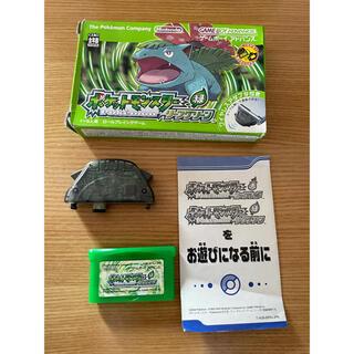 ゲームボーイアドバンス(ゲームボーイアドバンス)のポケットモンスター リーフグリーン ゲームボーイアドバンス 箱あり(携帯用ゲームソフト)