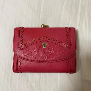 アナスイ(ANNA SUI)のアナスイ 二つ折りがま口財布(折り財布)
