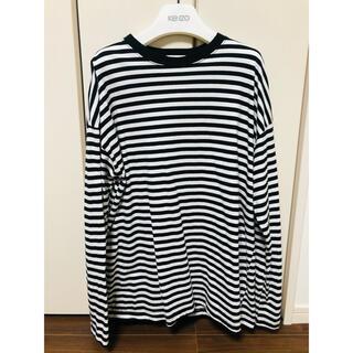 ザラ(ZARA)のボーダー ロンT 韓国(Tシャツ/カットソー(七分/長袖))