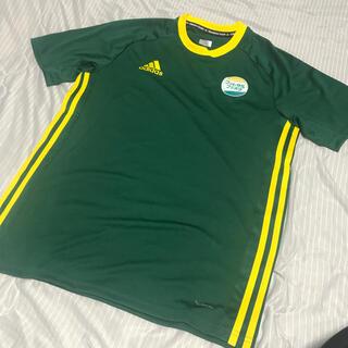 アディダス(adidas)のアディダス プラシャツ ゲームシャツ Lサイズ(ウェア)