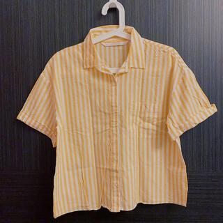 ザラ(ZARA)のZARA ストライプ半袖シャツ(シャツ/ブラウス(半袖/袖なし))