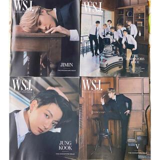 ボウダンショウネンダン(防弾少年団(BTS))のBTS  WSJ  雑誌(アイドルグッズ)
