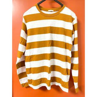 ジーユー(GU)のGU ボーダー ロンT トップス(Tシャツ/カットソー(七分/長袖))