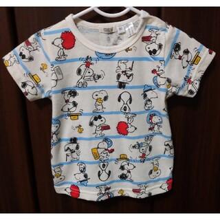 スヌーピー(SNOOPY)のスヌーピーTシャツ 90cm(Tシャツ/カットソー)