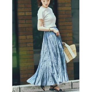 デミルクスビームス(Demi-Luxe BEAMS)のMARIHA マリハ 草原の虹のスカート(ロングスカート)