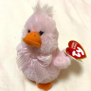 ty ぬいぐるみ pink duck pinkette(ぬいぐるみ/人形)