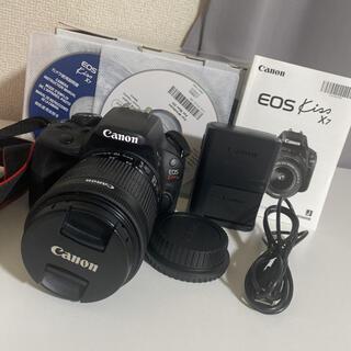 キヤノン(Canon)のCanon EOS KISS X7 標準レンズ(デジタル一眼)
