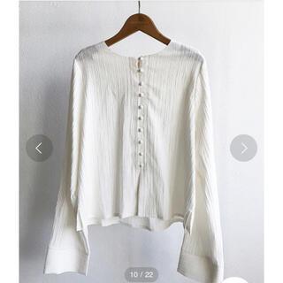 TODAYFUL - クレープジョーゼットシャツ